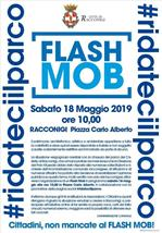 Locandina Flash Mob